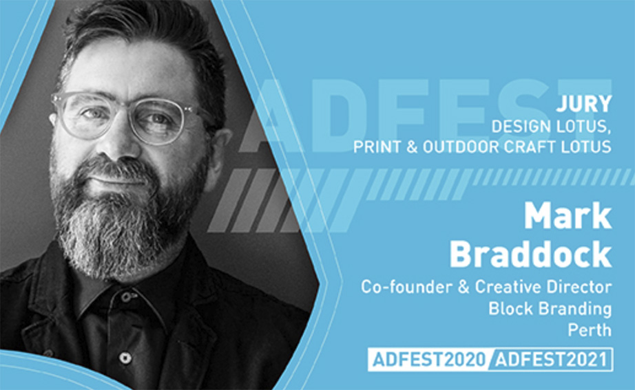 Block Branding's Mark Braddock to join the judging panel for the ADFEST Awards