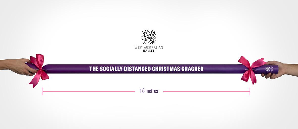 The West Australian Ballet creates 'the socially distanced Christmas cracker' to promote The Nutcracker via Wunderman Thompson Perth