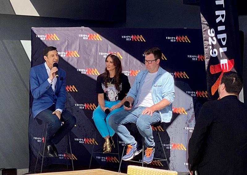 92.9 Triple M names Basil Zempilas, Xavier Ellis + Jenna Clarke as new Breakfast team