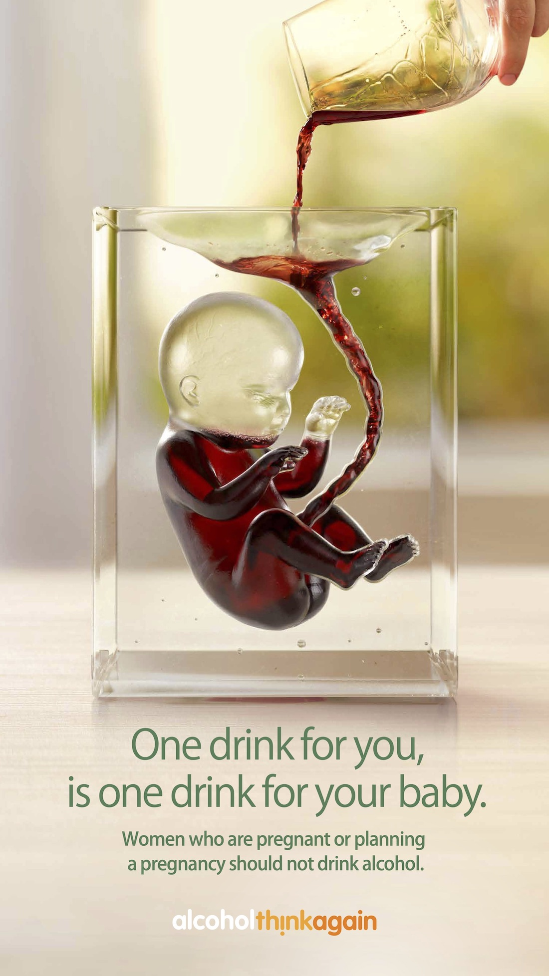 Alcohol. Think Again. educates WA community of the dangers of drinking during pregnancy in new campaign via 303 MullenLowe