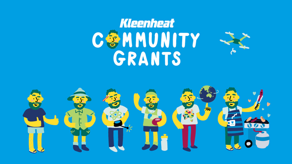 The Brand Agency launches campaign for Kleenheat's Community Grants' program