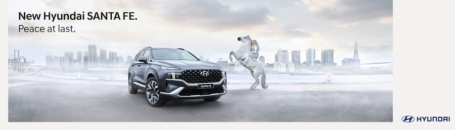 Seen+Noted: Hyundai finds its 'Orinocco flow' in new work for the Hyundai Santa Fe via Innocean