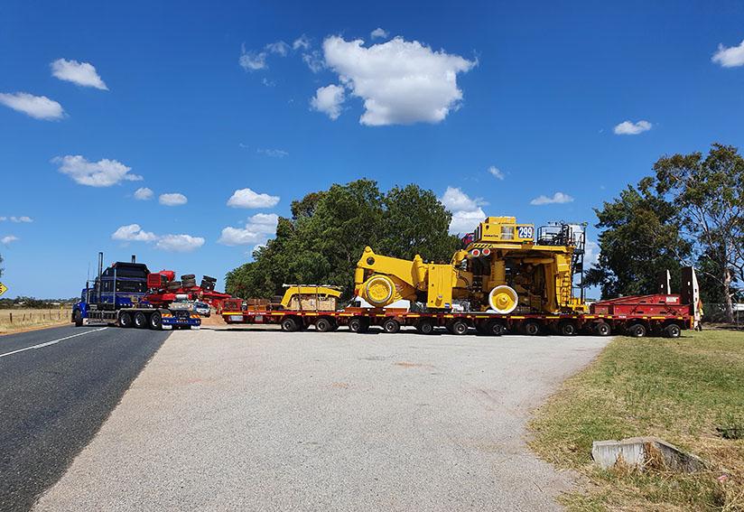 Cooch goes big, fast for Main Roads WA