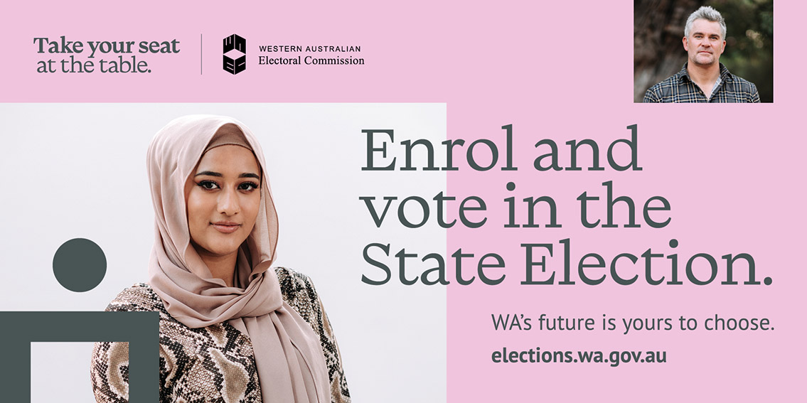 The Brand Agency launches new WA Electoral Commission work to encourage us all to vote in the upcoming State Election