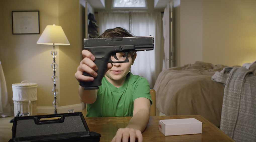 Seen+Noted: Grey New York unboxes this chilling Gun Violence campaign