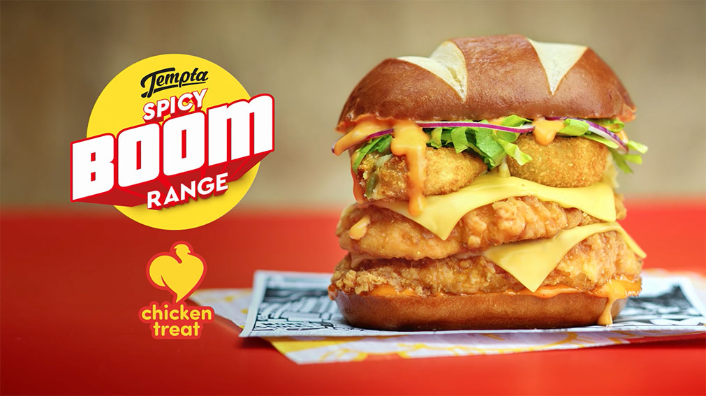 &Partners launches new Chicken Treat range with a boom