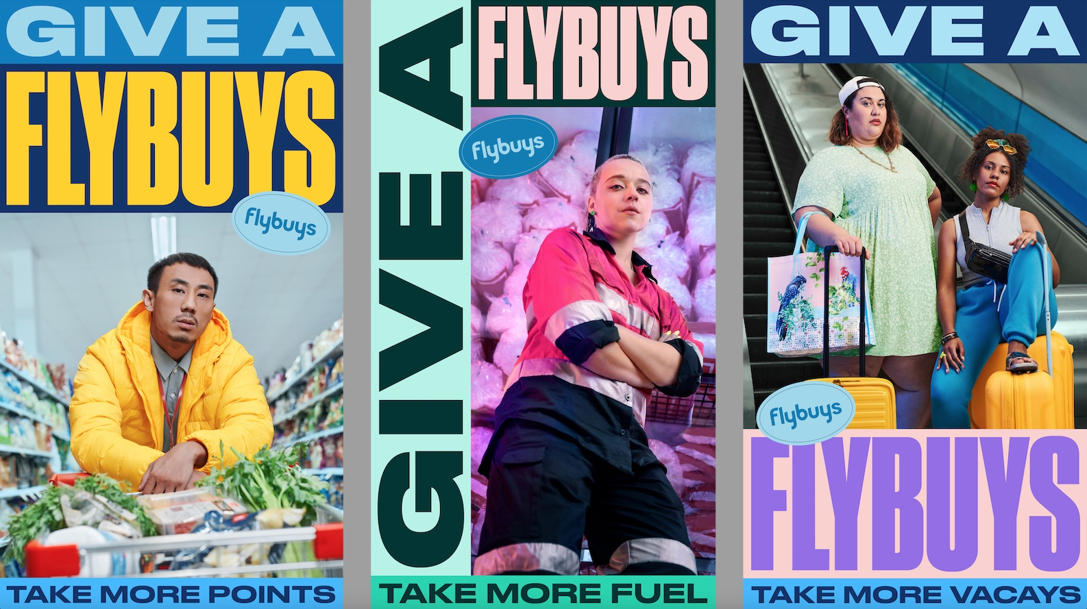 Seen+Noted: Flybuys captures 'Give a Flybuys' Aussie attitude in new work via CHE Proximity
