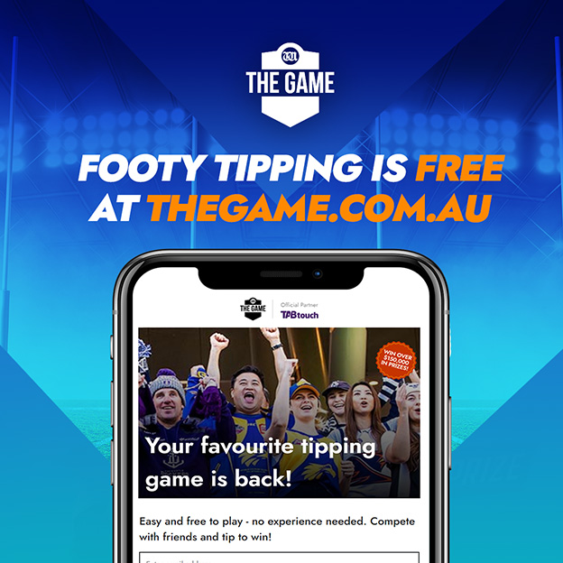Seven West Media launches footy tipping platform THE GAME for the 2021 AFL season