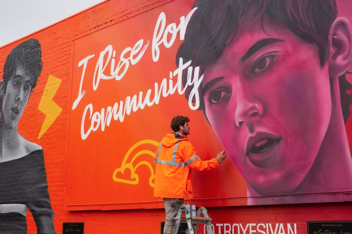 Instagram launches Mardi Gras street installations to highlight 'local heroes'