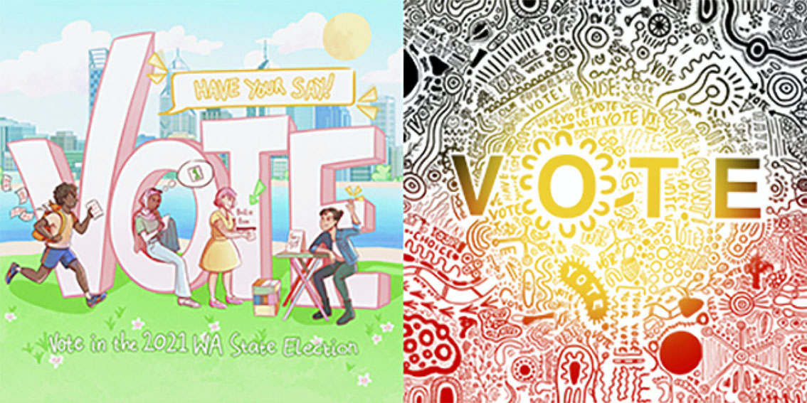 The Brand Agency enlists young WA artists to encourage young people to vote in the State Election