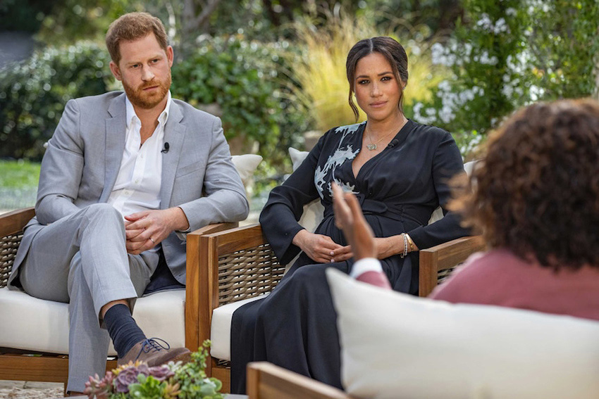Ten's Oprah With Meghan & Harry special tops the night with 42.4% share in Perth