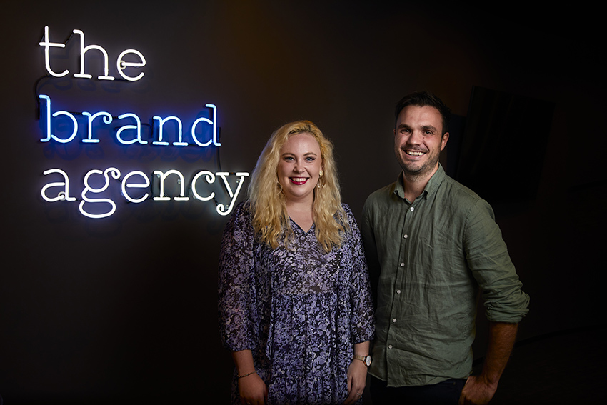 Chanel Hardcastle and Darcy White join the account service team at The Brand Agency