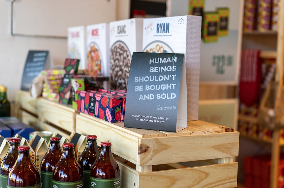 Seen+Noted: Anti-Slavery Australia launches the world's first supermarket 'selling human beings'