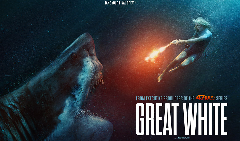 Trailer released for 'Great White,' Perth Director Martin Wilson's feature directorial debut