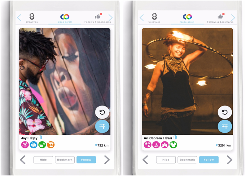Coco Creative launches new social app to connect the artistic community