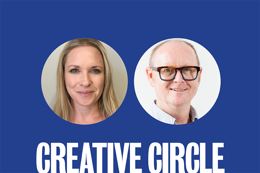 Creative Circle: Alida Henson + James Gillespie