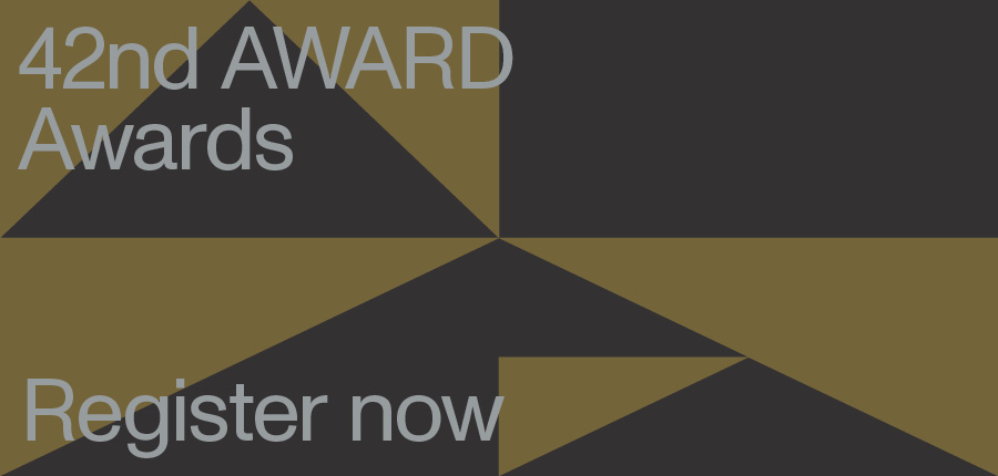 Register now for the 42nd AWARD Awards Virtual Ceremony on Friday 21 May at 3:00pm AEST