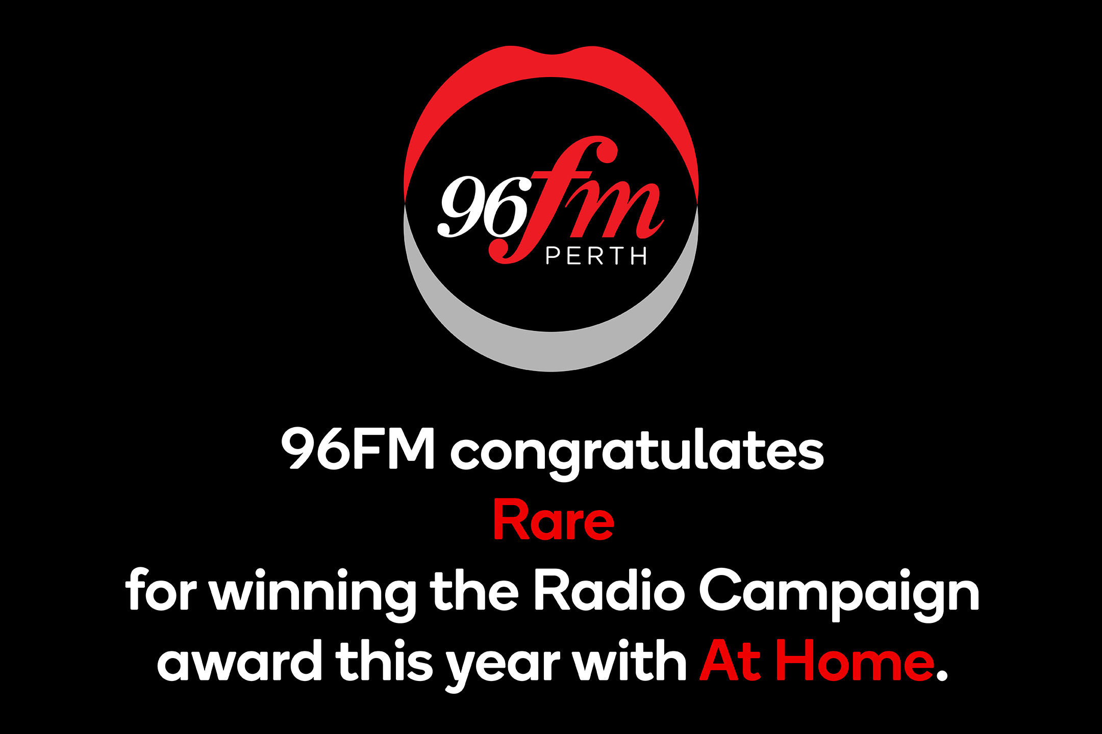 Rare's Brightwater campaign scores the Best of Year award in the Radio Campaign category at the 2021 Campaign Brief WA Awards
