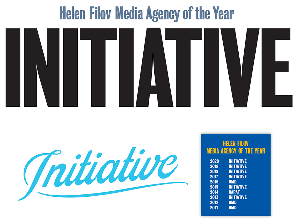 The Helen Filov Media Agency of the Year award goes to Initiative for the fourth year in a row