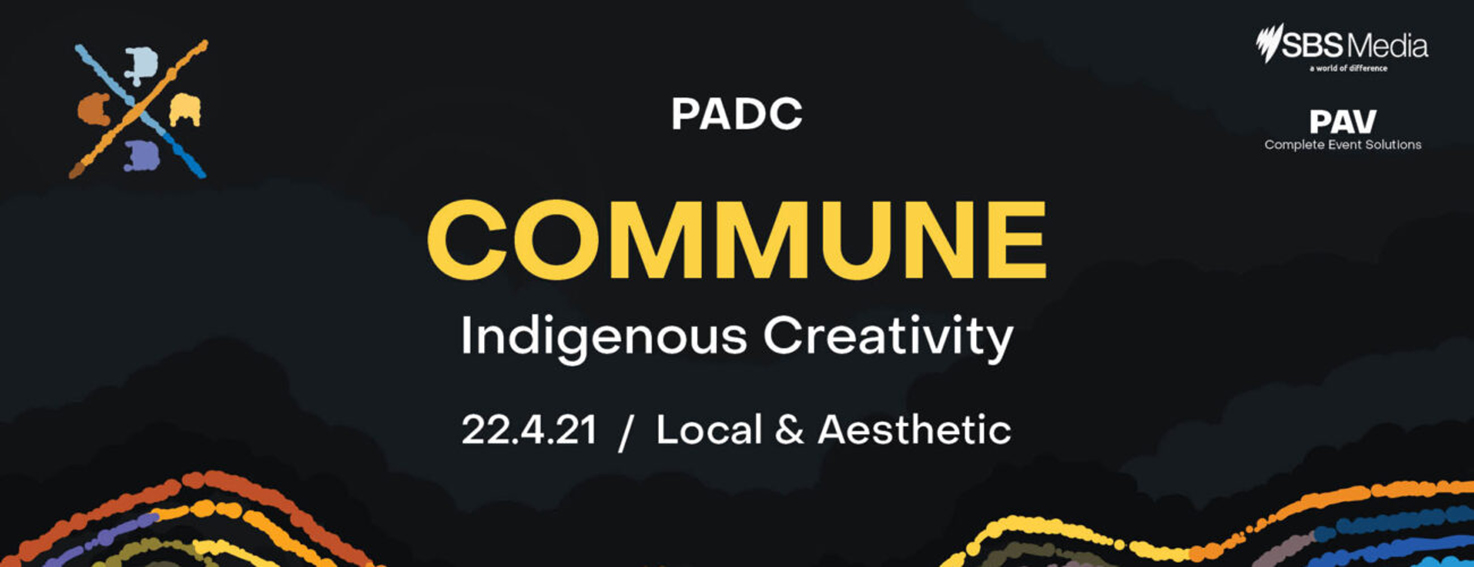 Final call for tomorrow morning's PADC Indigenous Creatives Breakfast Commune