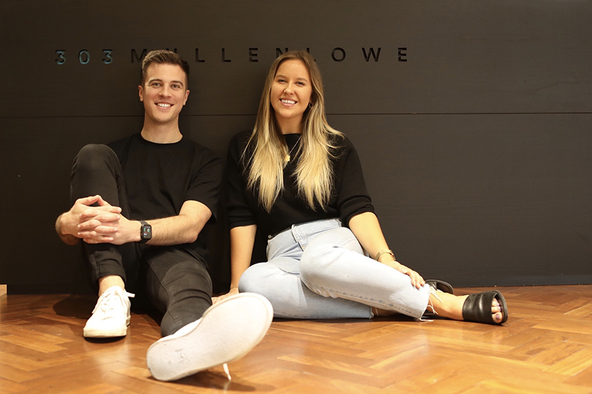 303 MullenLowe young guns Lara Hudson and David Svarc reflect on entering the industry amidst a pandemic
