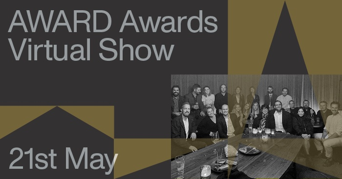 Don't miss the 42nd AWARD Awards Virtual Ceremony on Friday 21st May 1pm