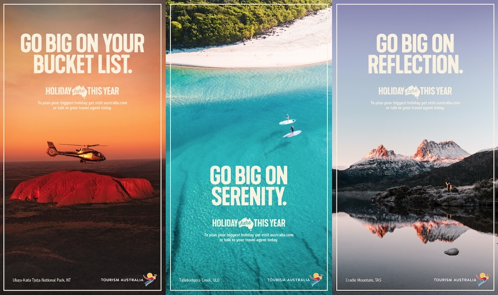 Tourism Australia urges travellers to take an epic holiday in new campaign via M&C Saatchi