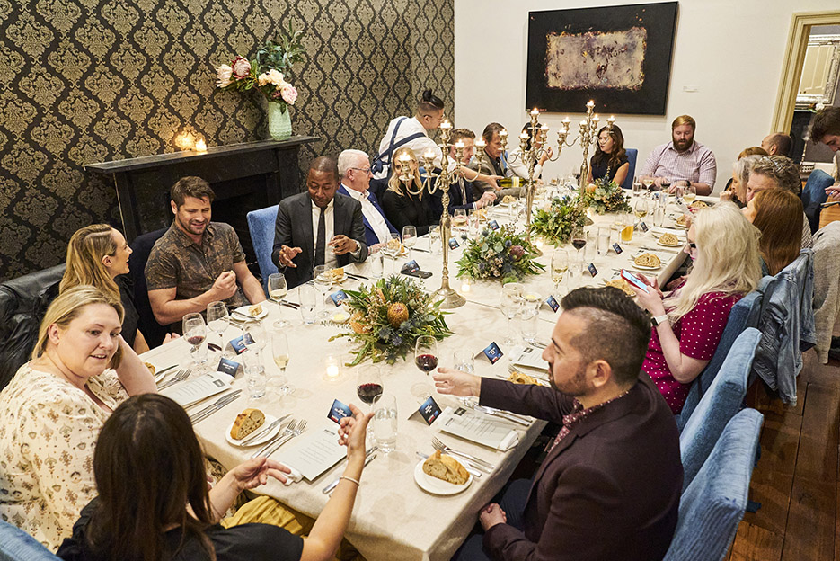 Good Times: Dining with the stars of Channel 9's Doctor Doctor