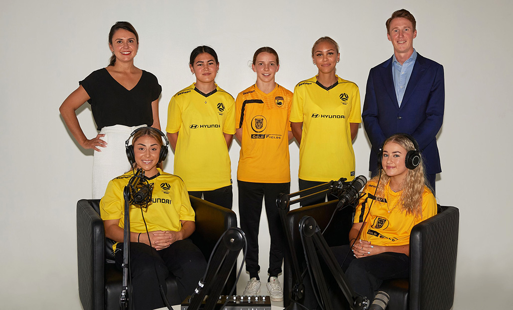 WA's future Matildas train for on and off the field performances