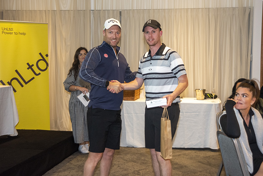 6IX takes out the top prize at the inaugural UnLtd Open Golf Day
