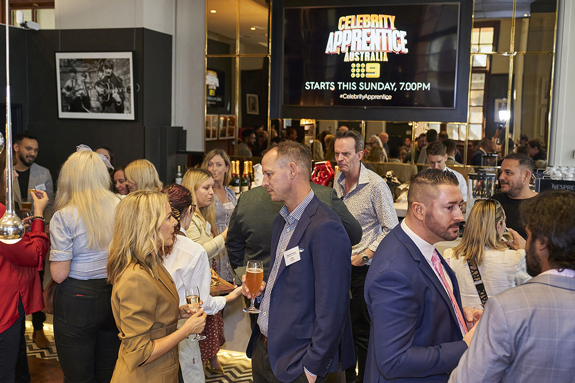 Channel 9 hosts VIP luncheon at the Celebrity Apprentice media preview screening