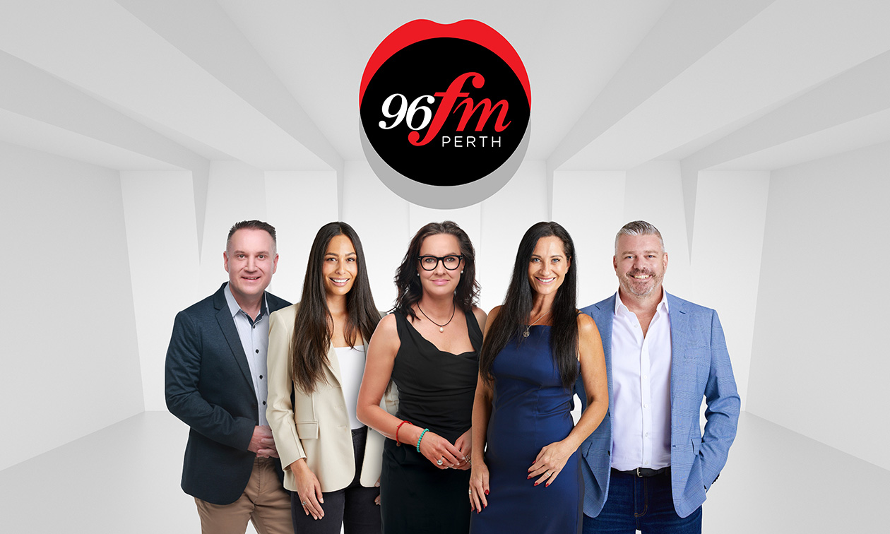 96FM announces new look sales team