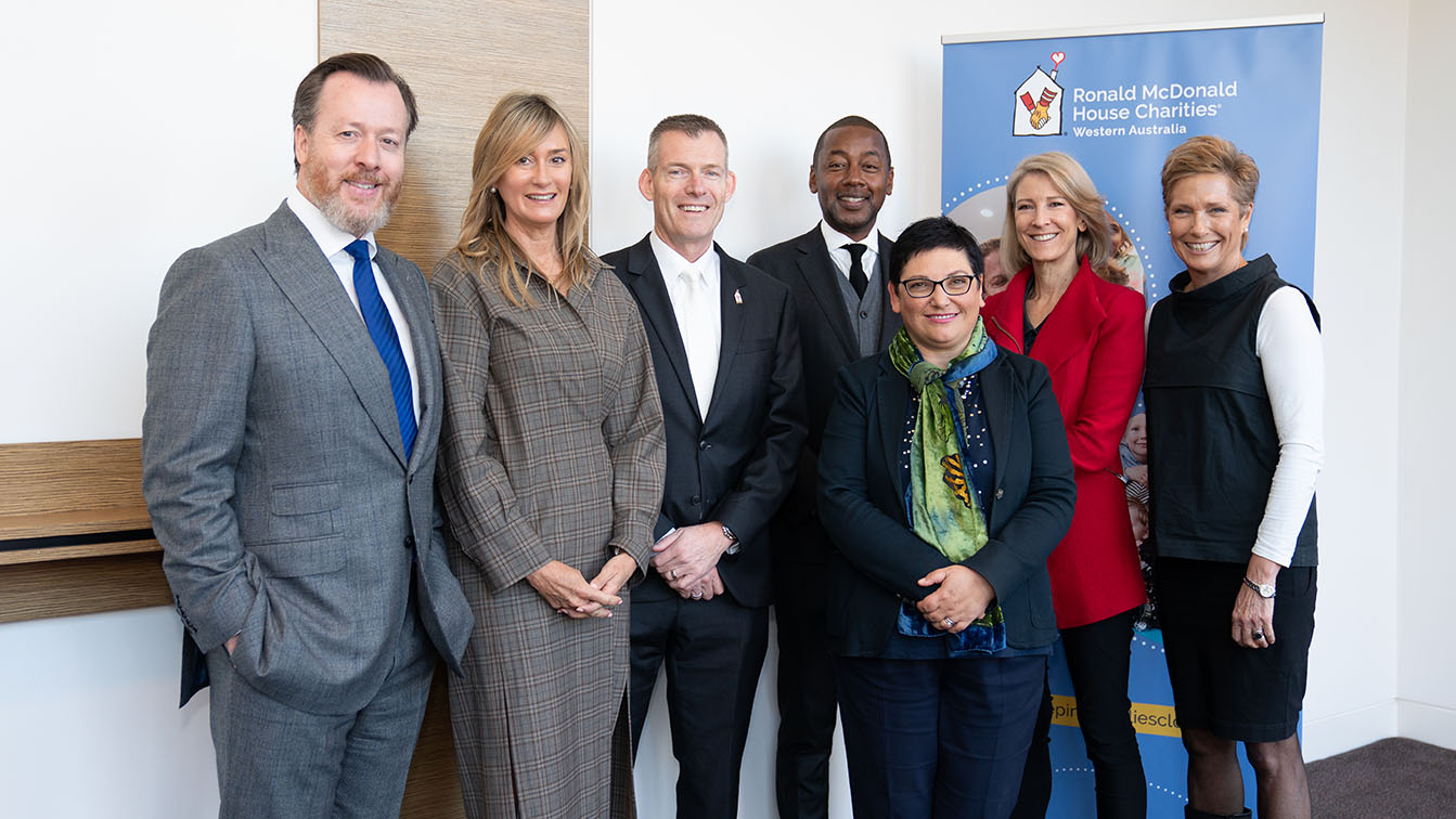 Nine Perth & Ronald McDonald House Charities WA to work together for families with seriously ill children