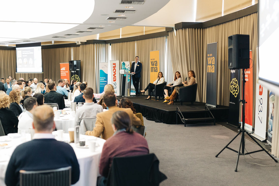 Overwhelming turnout for the WA Marketing Association 'Experience Matters' breakfast function