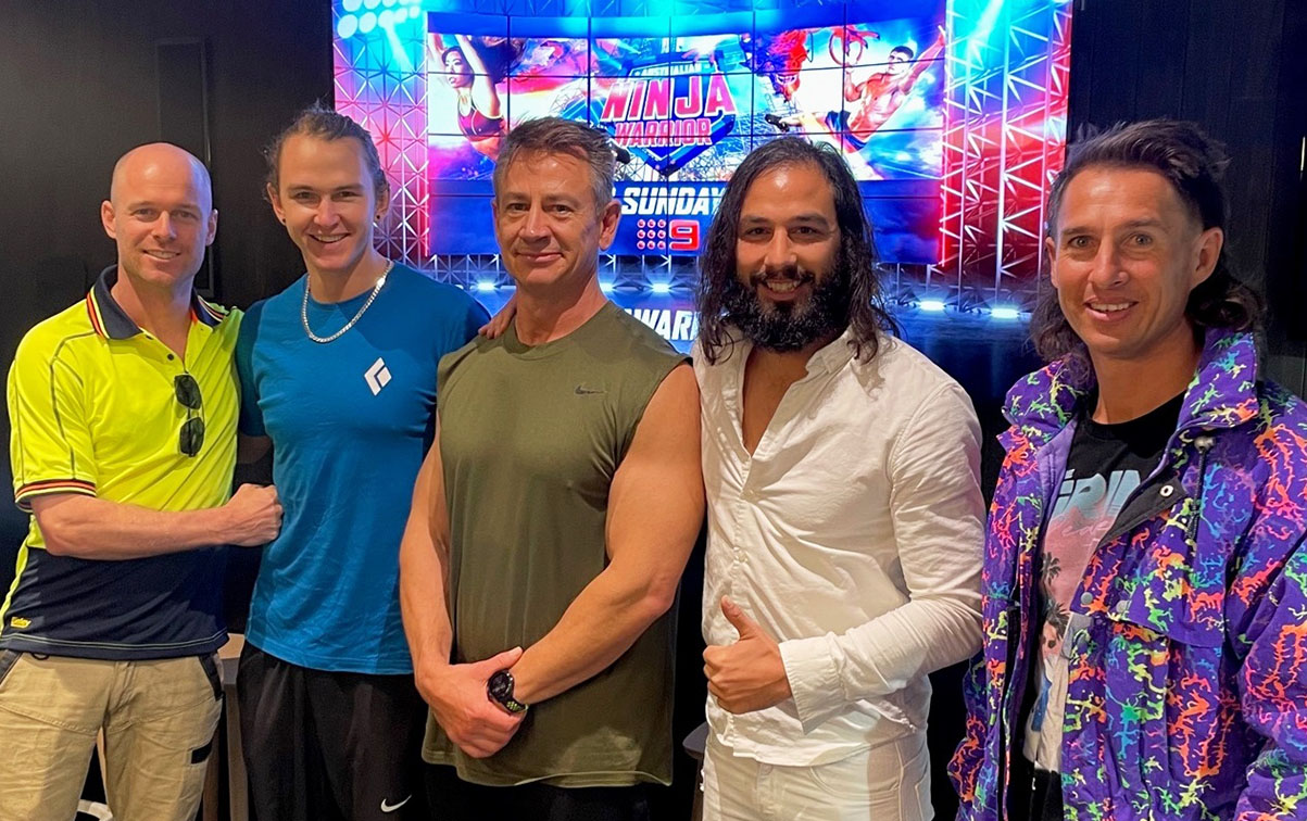 Channel 9 hosts Australian Ninja Warrior preview for media and clients