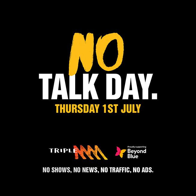 Triple M's No Talk Day encourages courageous conversations around men's mental health