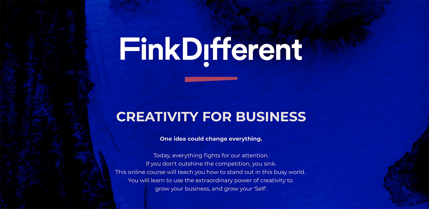 Global advertising legend Graham Fink launches 3 week online course 'Fink Different'