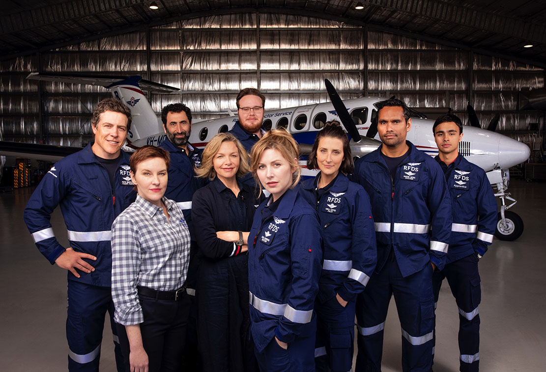 Channel 7 releases the first look of RFDS Aussie drama series