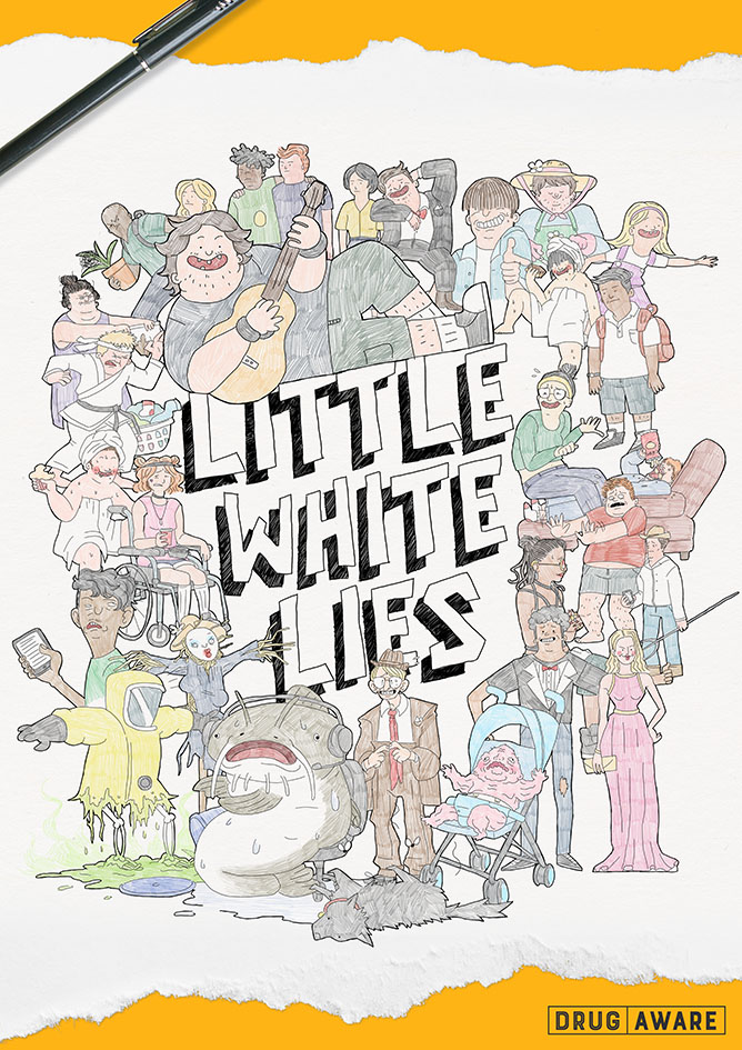 303 MullenLowe tells little white lies in new Drug Aware campaign to help kids say 'No'