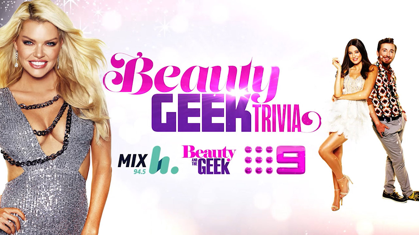 Channel 9 Perth and Mix 94.5 launch joint Beauty and the Geek Trivia campaign