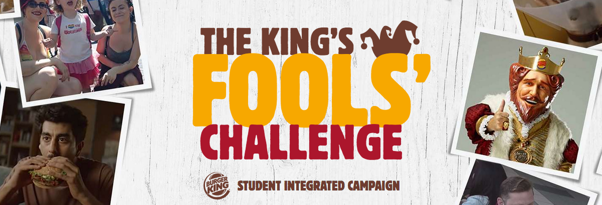 Clio partners with Burger King to challenge students to create next great April Fool's prank