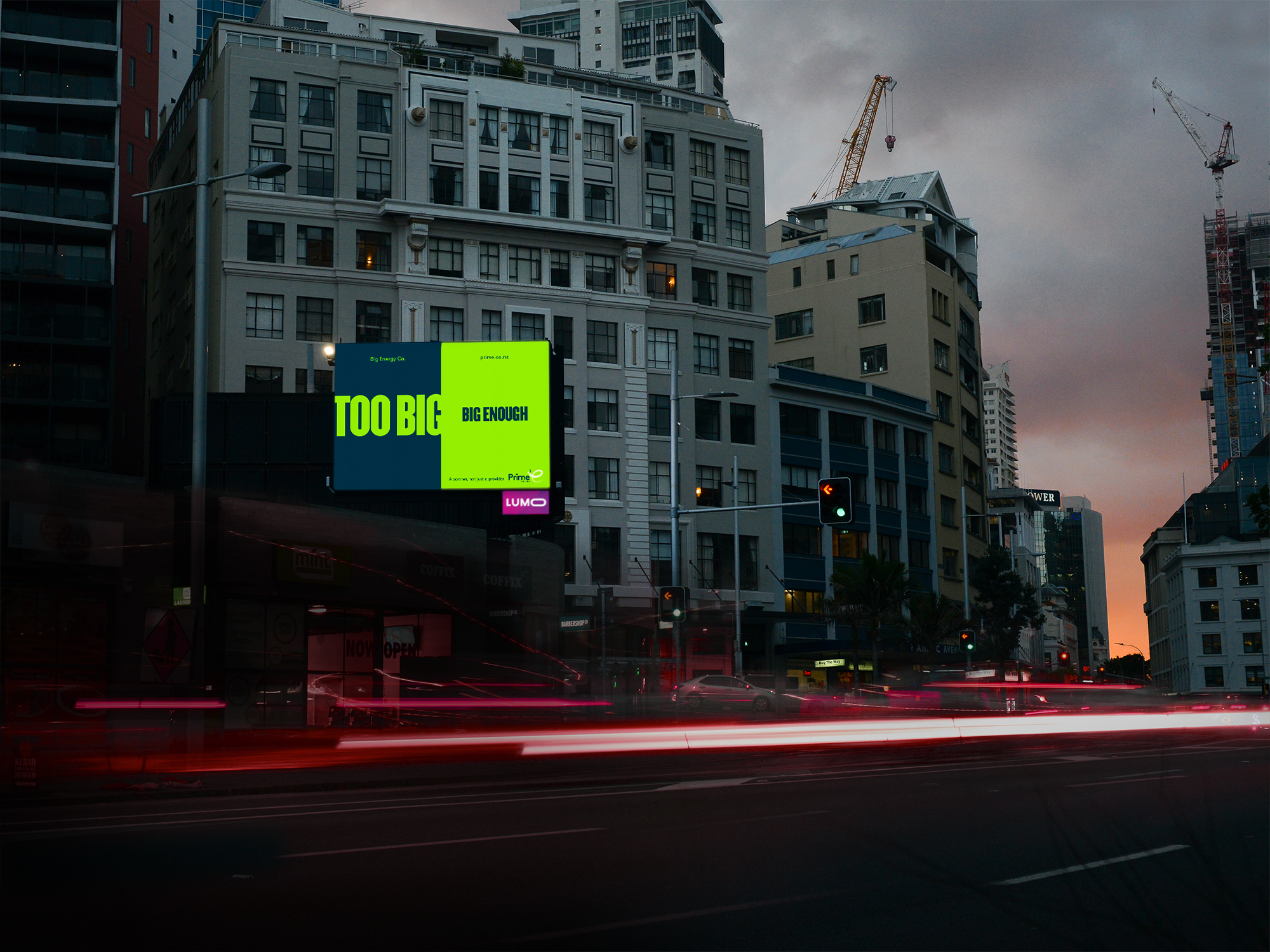 Prime Energy tackles the big corporations head on in newly launched outdoor campaign via Hello