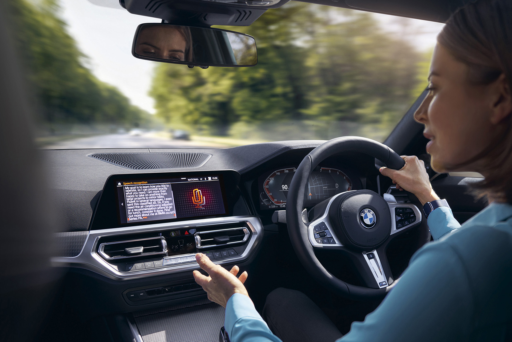 BMW's intelligent PA hopes Kiwis will help it get a job in BMW 3 Series campaign via Colenso BBDO