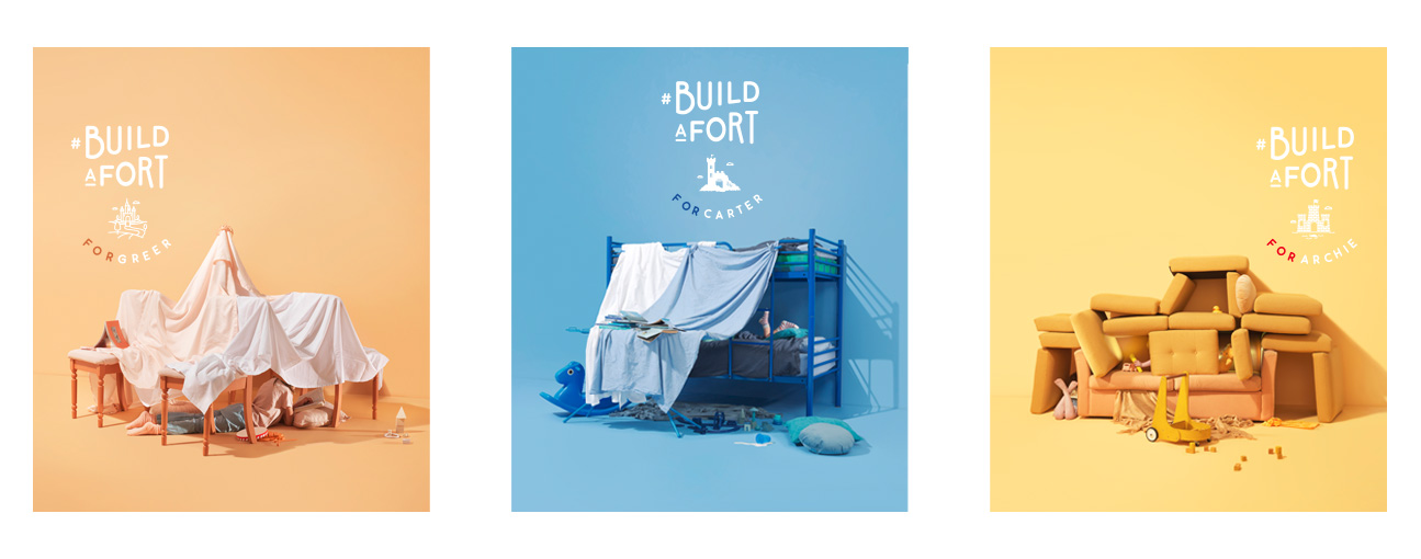 RMHC NZ encourages Kiwis to #BuildAFort for families in need in new campaign via DDB NZ