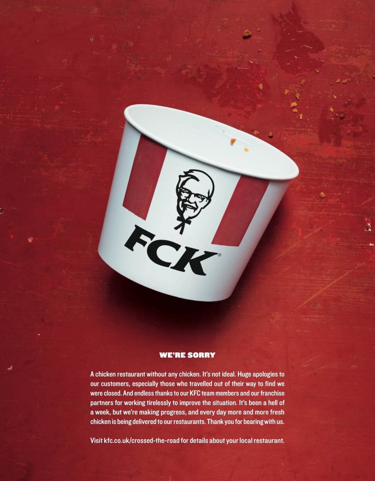 Damon Stapleton: Advertising. Norah Jones, KFC and forgiveness