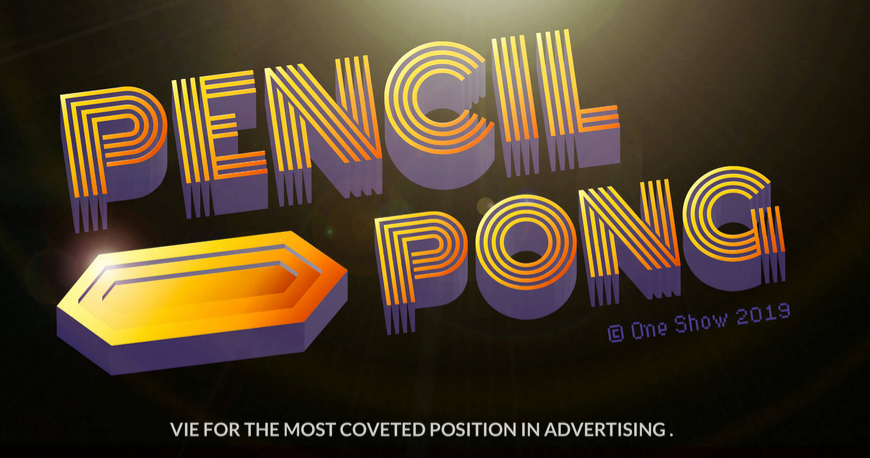 Toronto agency Zulu Alpha Kilo launches Pencil Pong to conclude The One Show Awards campaign