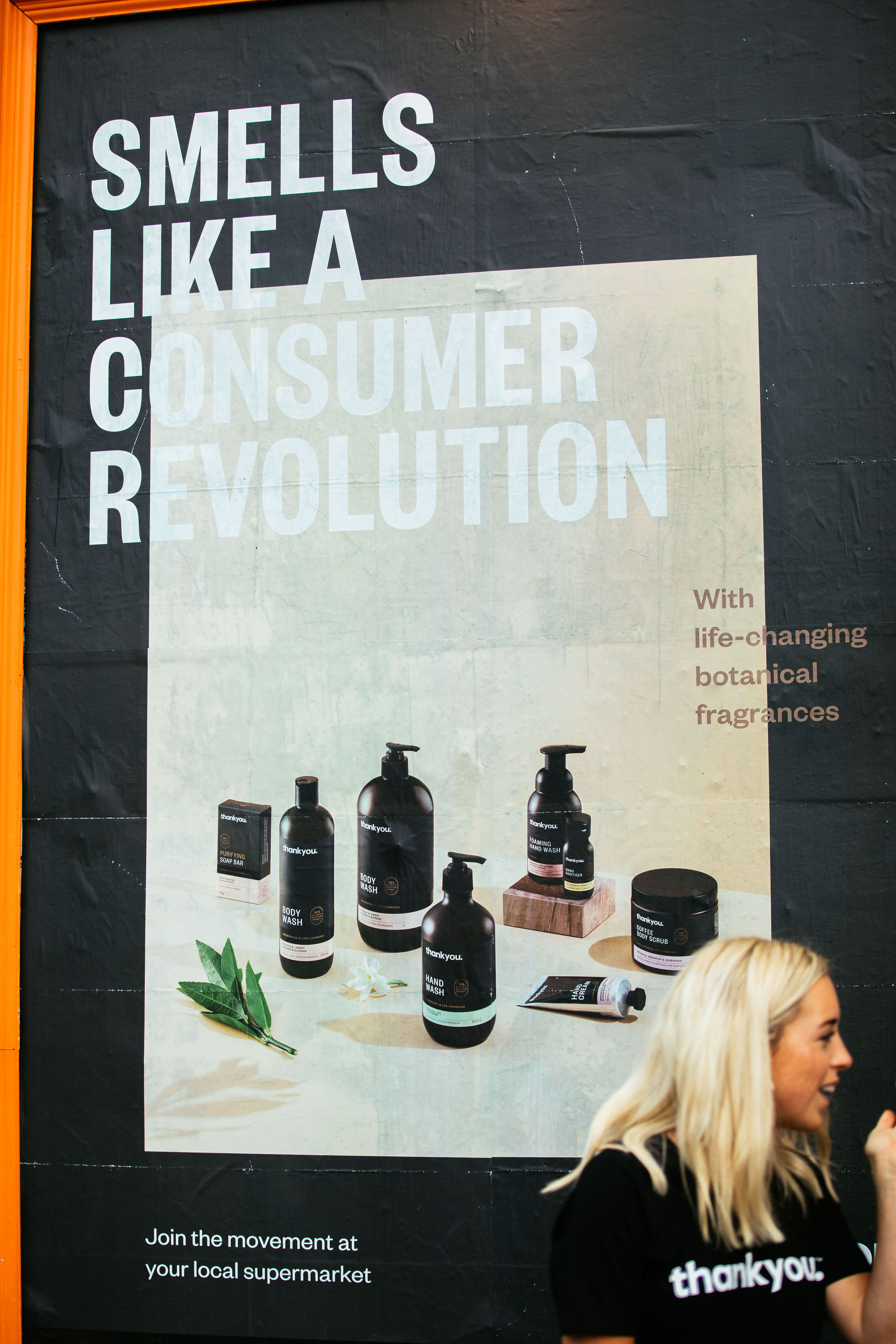 Thankyou launches new 'Smells Like a Consumer Revolution' campaign in NZ via Marx Design