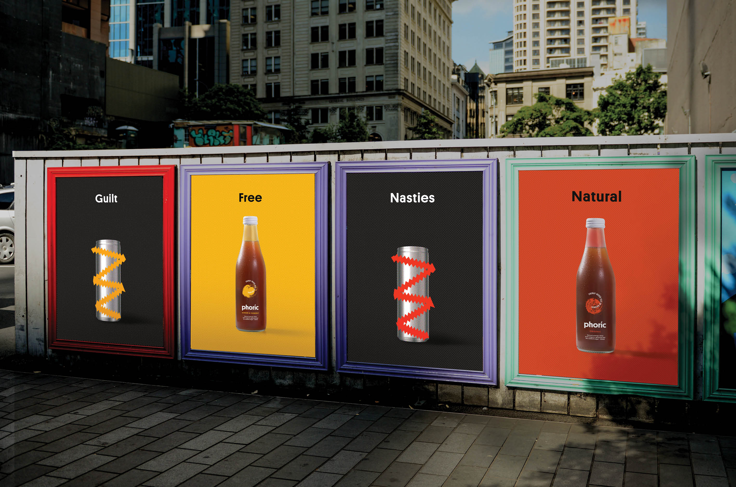 Phoric shakes up New Zealand's energy drink market with new launch campaign via Hello