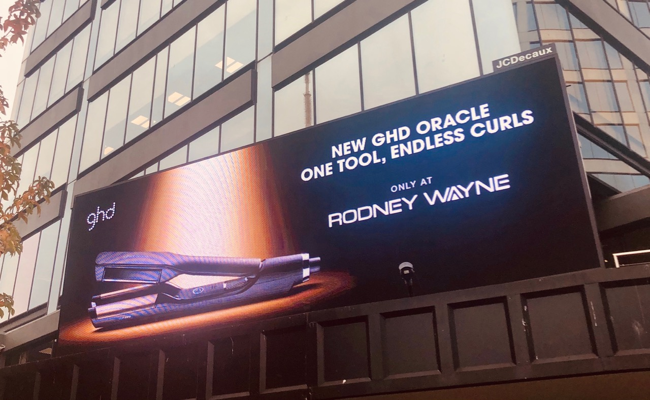 GHD and Rodney Wayne launch new outdoor campaign via Lachlan McPherson and Friends