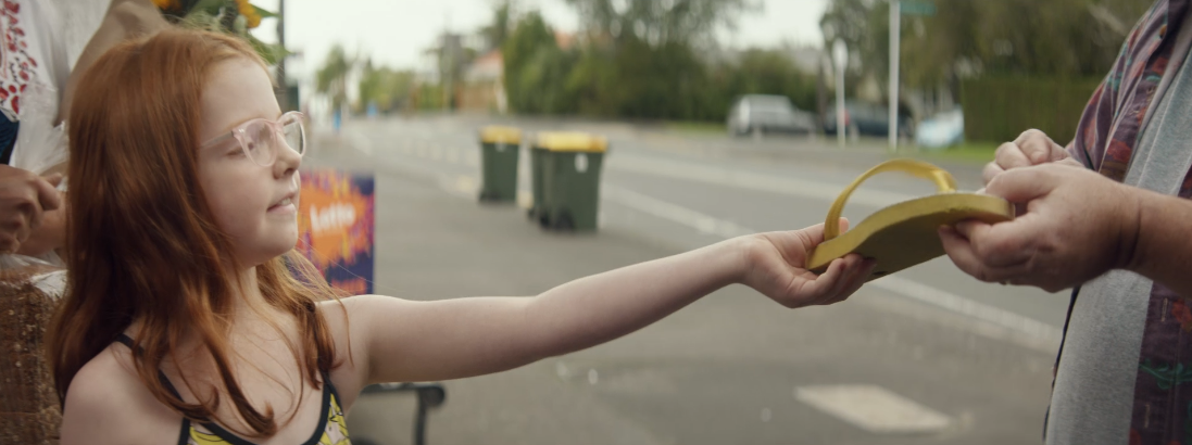 Lotto NZ champions Kiwis helping Kiwis in cheerful new spot via DDB New Zealand
